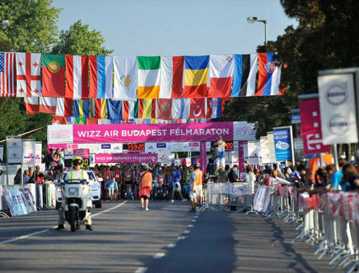 budapest running half marathon