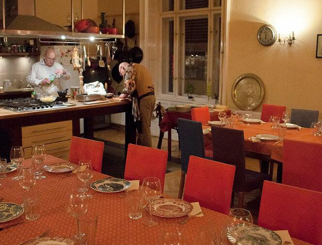 romantic dinner budapest