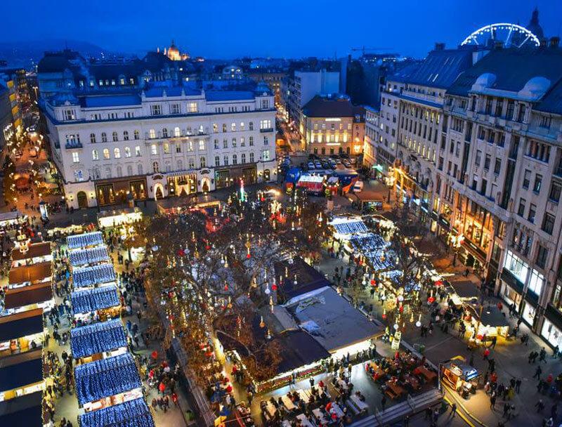 Marché de Noël à Budapest 2019