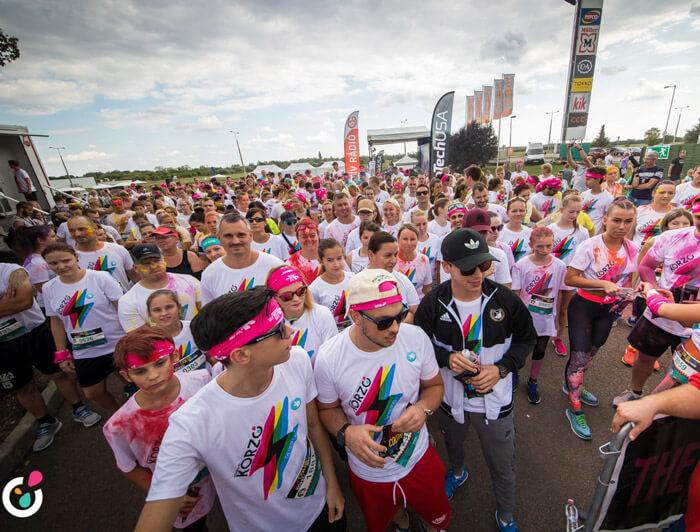 color run Budapest 2020