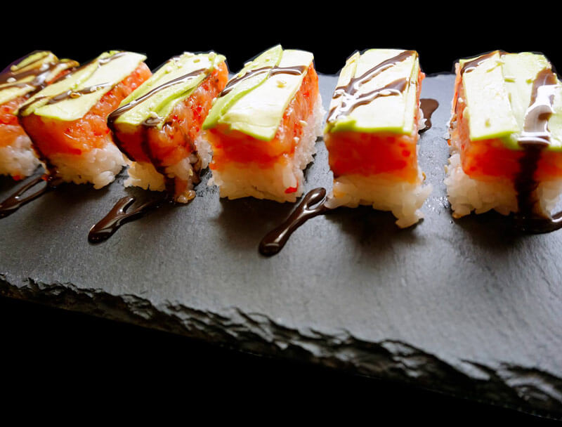 ristorante giapponese sushi a Budapest