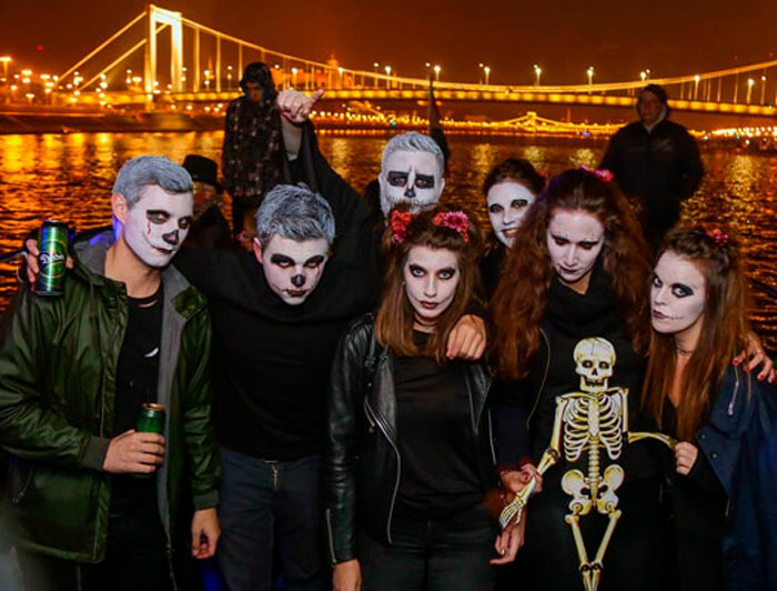 budapest halloween